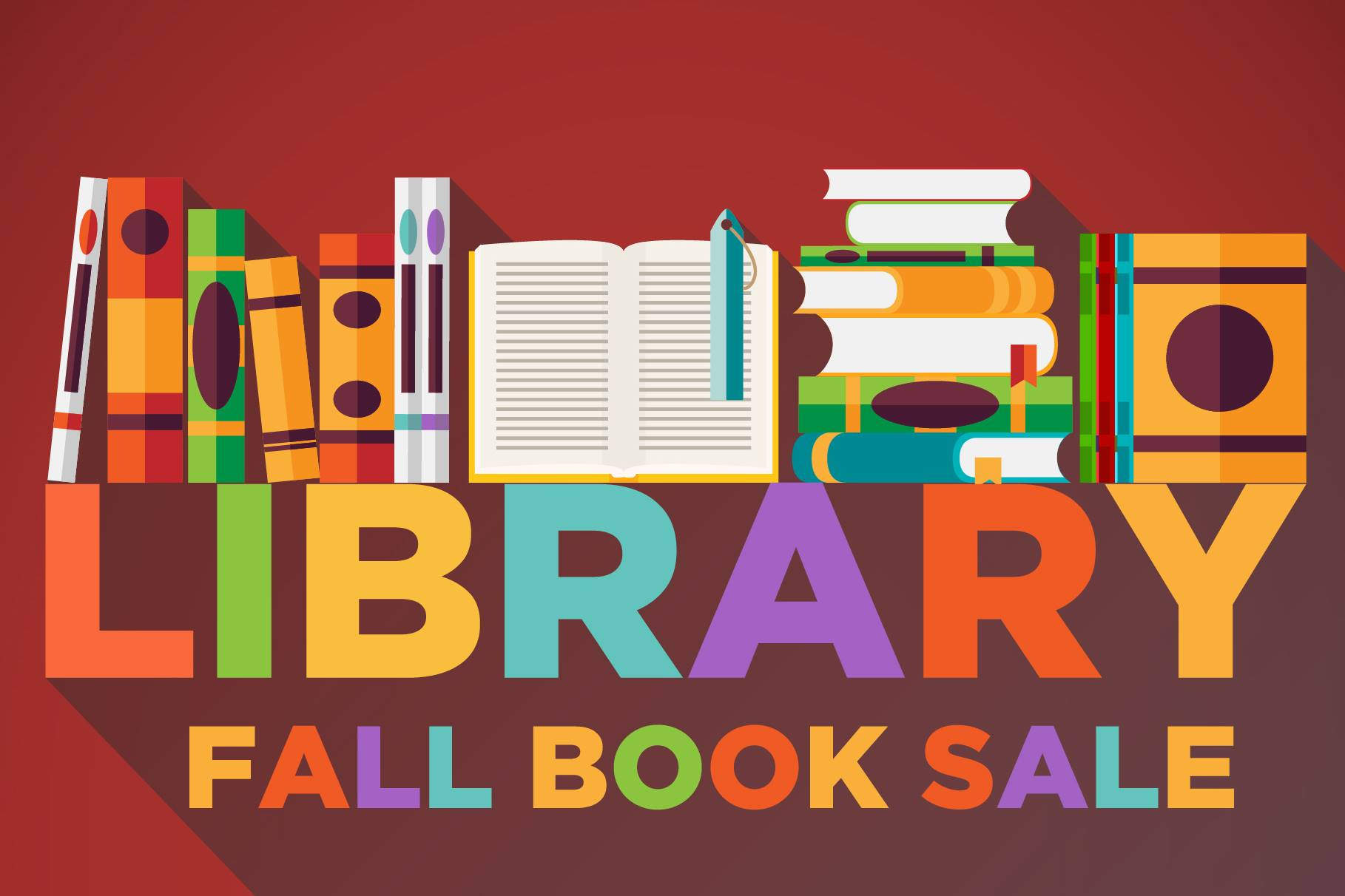 fall book sale linwood library